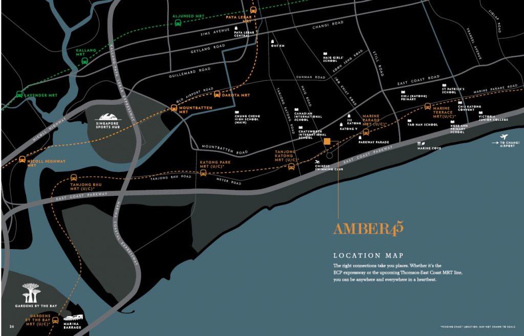 amber 45 condo location